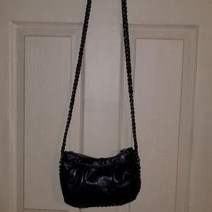 EXPRESS Faux Leather Crossbody Chain Strap Purse